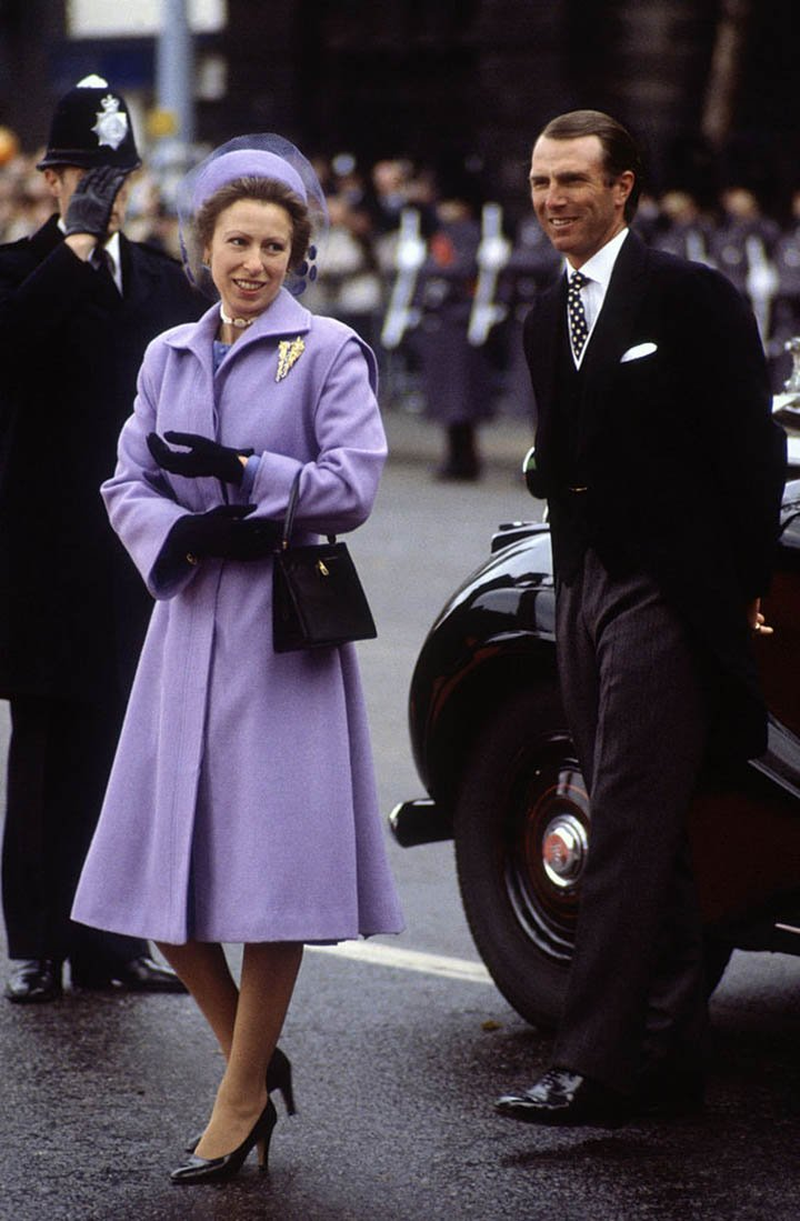 Princess Anne and Mark Phillips. I Image: Getty Images.