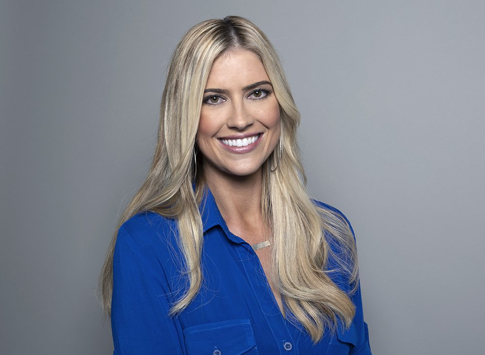 Christina Anstead posing for a promotional portrait in Los Angeles, California in February 2017. I Image: Getty Images.