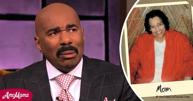 Steve Harvey bursts into tears during passionate tribute to his mother