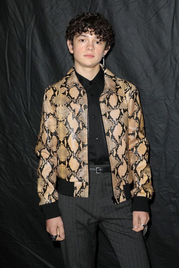 Noah Jupe attends the Celine show as part of the Paris Fashion Week Womenswear Fall/Winter 2020/2021 on February 28, 2020 in Paris, France. | Source: Getty Images