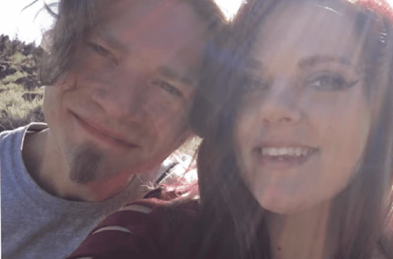 Bear Brown and ex-fiancée Raiven pictured in July 2020. | Image: YouTube/ eCelebrityFacts.