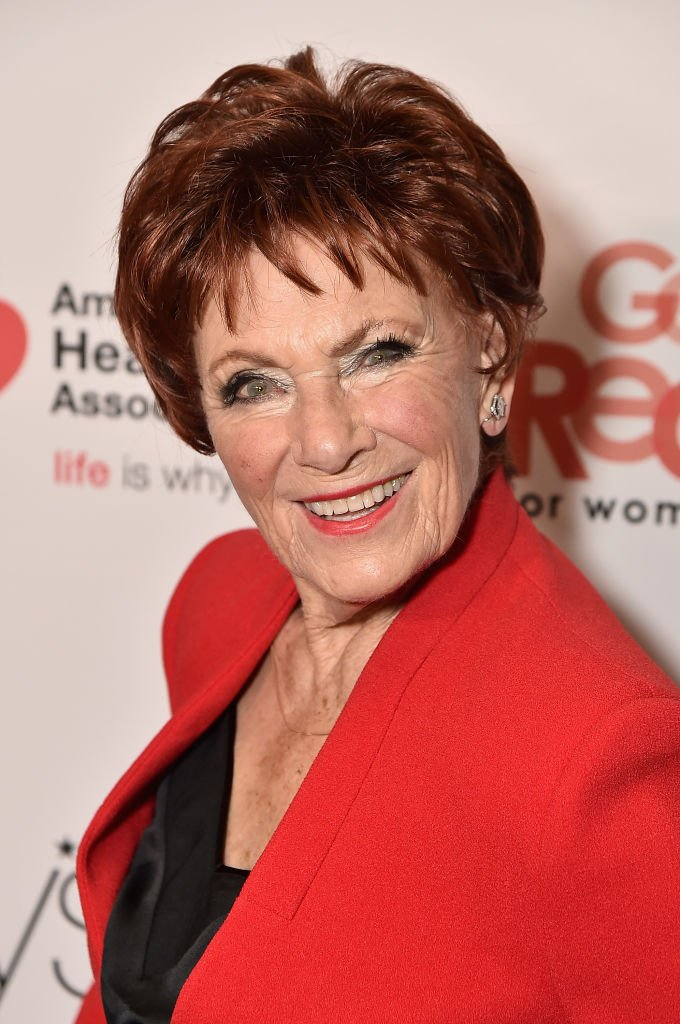Actor Marion Ross at the American Heart Association's Go Red For Women on February 8, 2018 | Photo: GettyImages
