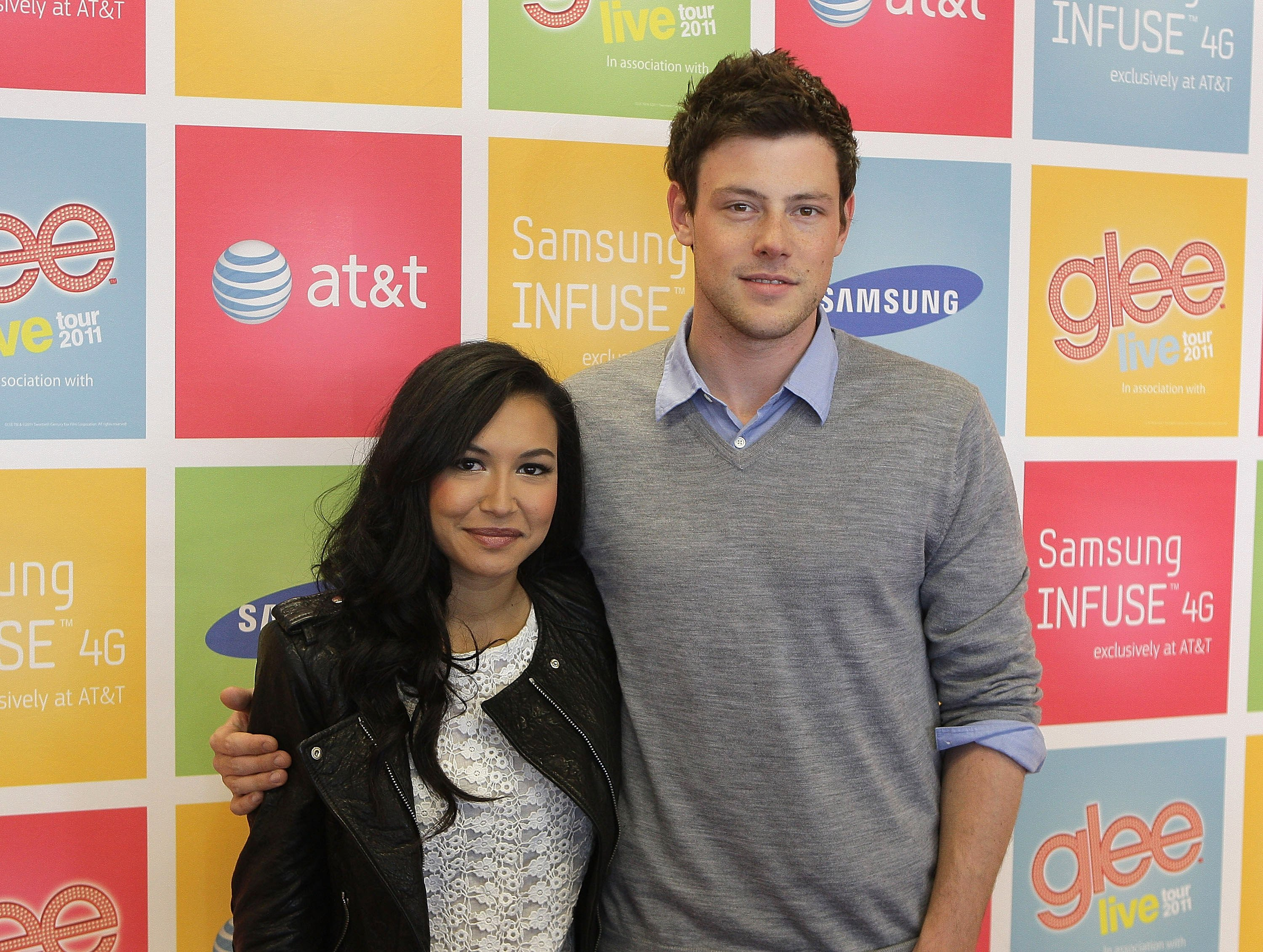 Naya Rivera and Cory Monteith during a 2011 meet and greet event in San Jose. | Photo: Getty Images