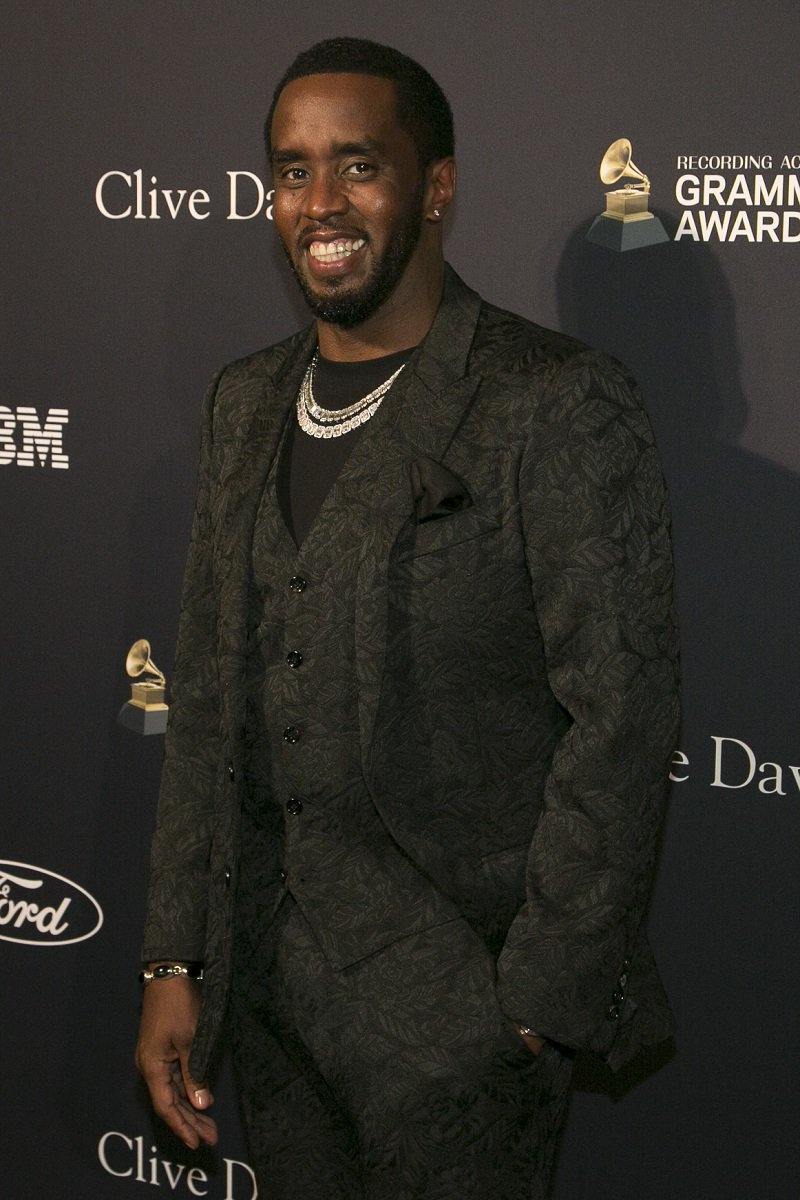 """Sean """"Diddy"""" Combs on January 25, 2020 in Beverly Hills, California 