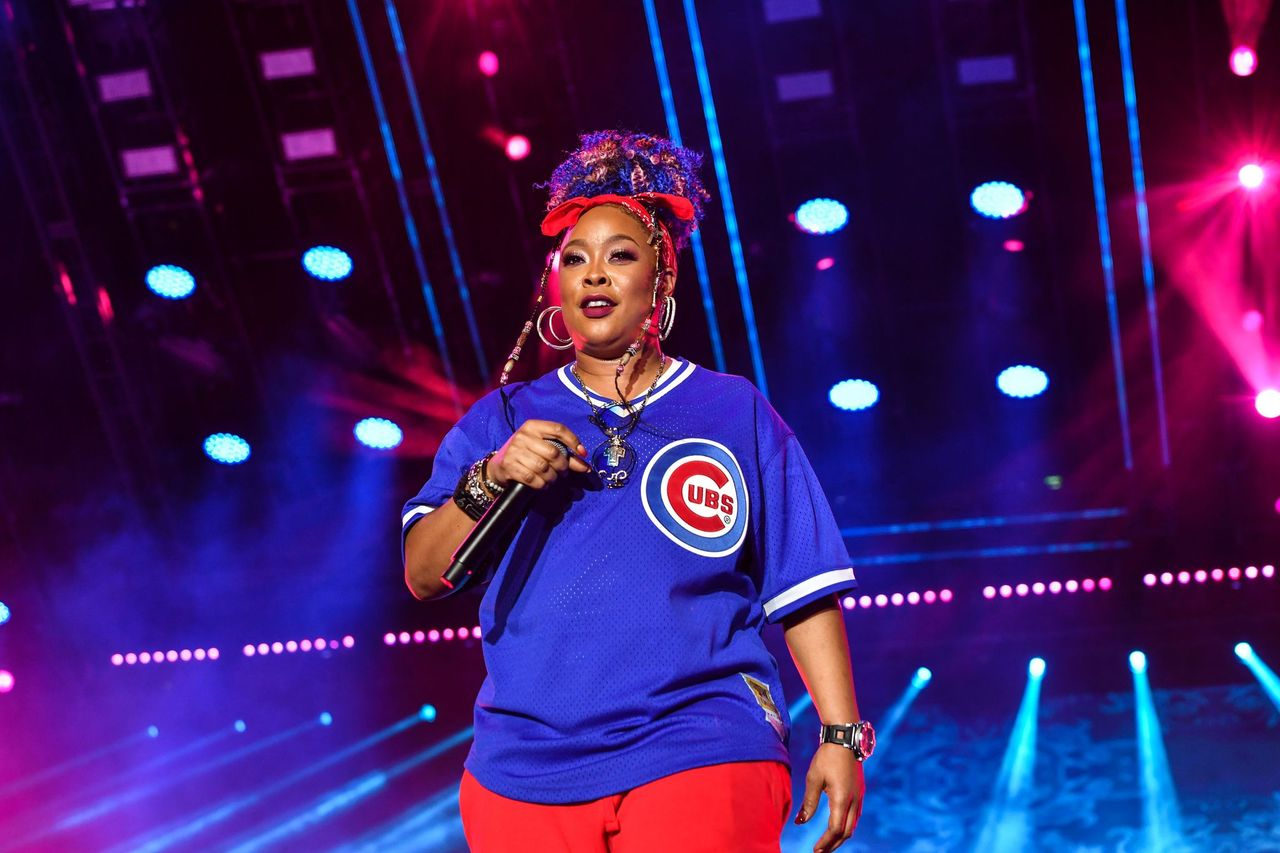 Da Brat performs during the 2019 Essence Festival at the Mercedes-Benz Superdome on July 07, 2019 | Photo: Getty Image