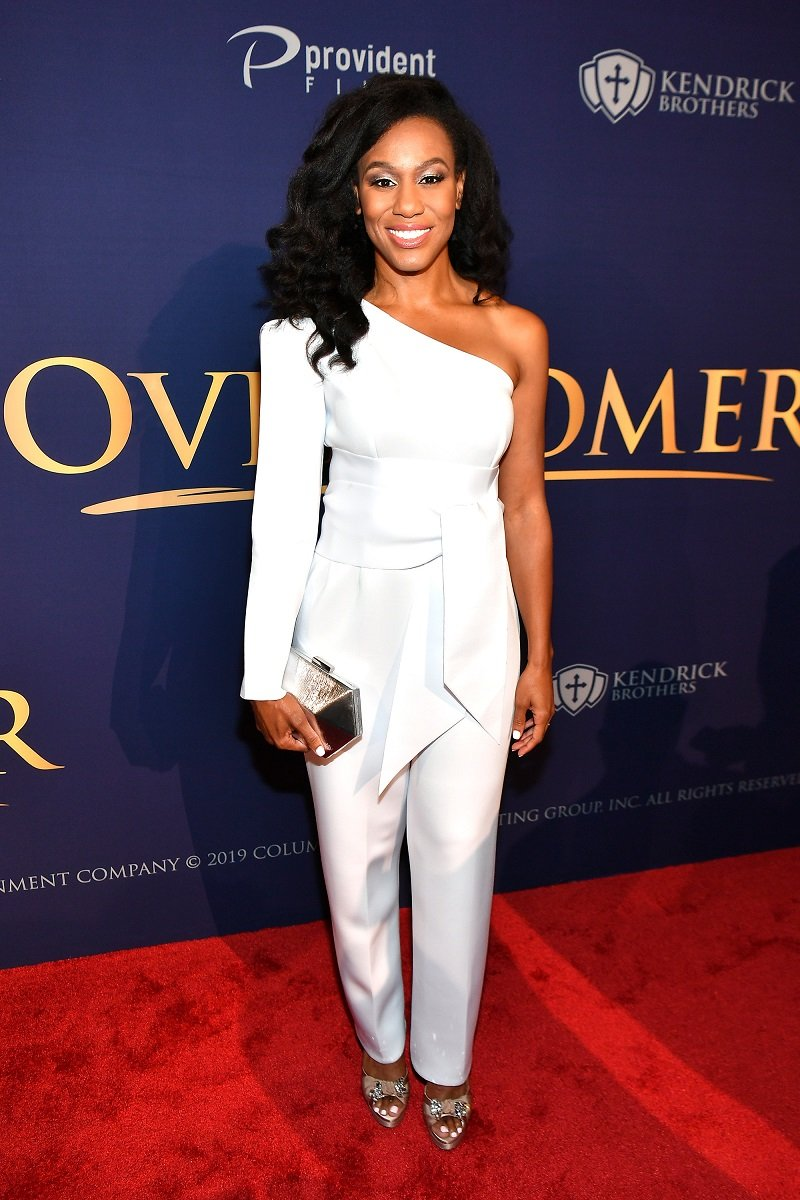 "Priscilla Shirer attends the premiere of ""Overcomer"" on August 15, 2019 in Atlanta, Georgia. 