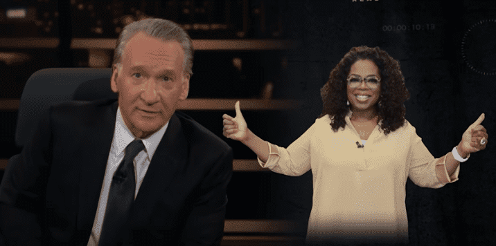 Bill Maher talking about Oprah Winfrey   Photo: YouTube/Real Time with Bill Maher