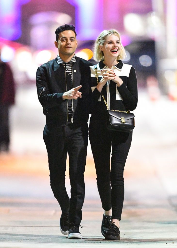 Rami Malek and Lucy Boynton are seen on January 08, 2019, in Los Angeles, California | Photo: PG/Bauer-Griffin/GC Images/Getty Images