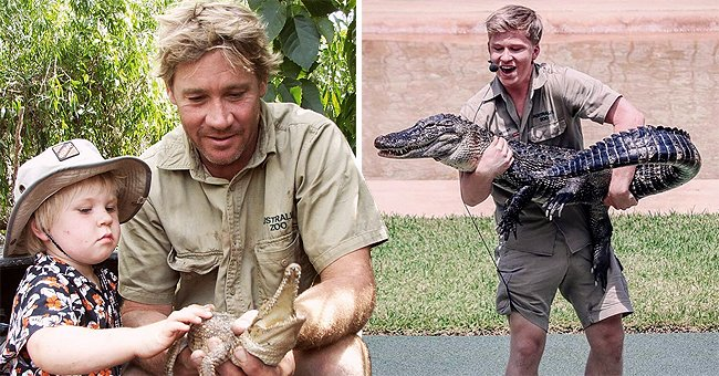 Steve Irwin & Son Robert Spent Time Together before His Death — Inside Their Relationship