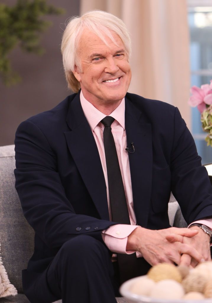"""John Tesh at the Hallmark Channel's """"Home & Family"""" at Universal Studios Hollywood on March 06, 2020 in Universal City, California. 