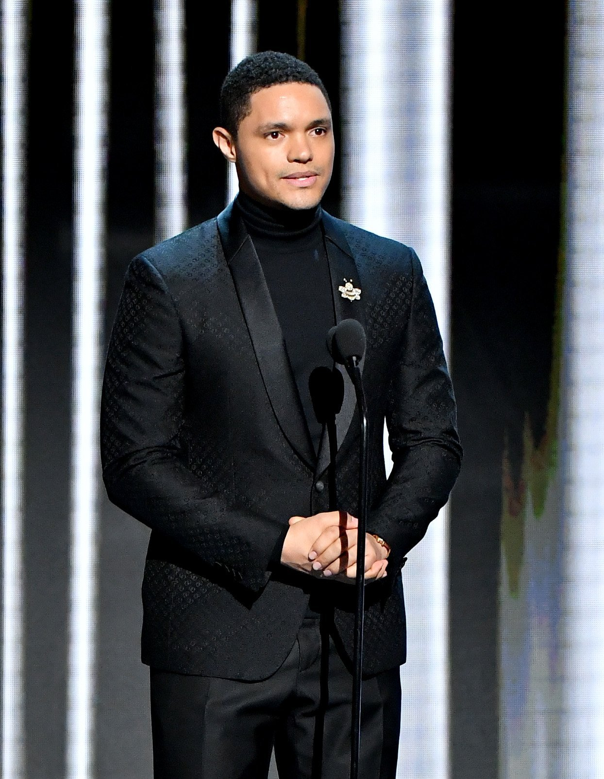 Trevor Noah during the 50th NAACP Image Awards at Dolby Theatre on March 30, 2019 in Hollywood. | Source: Getty Images