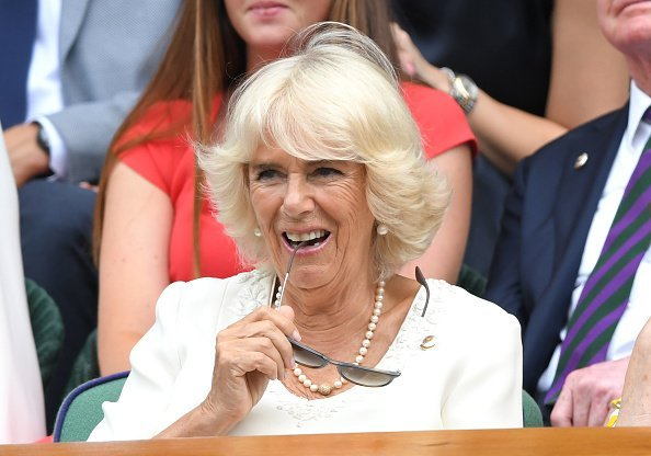 Camilla, Duchess of Cornwall attends day nine of the Wimbledon Tennis Championships at All England Lawn Tennis and Croquet Club  in London, England. | Photo: Getty Images.