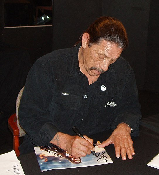 Danny Trejo at the Scandinavian Sci-Fi, Game & Film Convention in Helsingborg. | Source: Wikimedia Commons