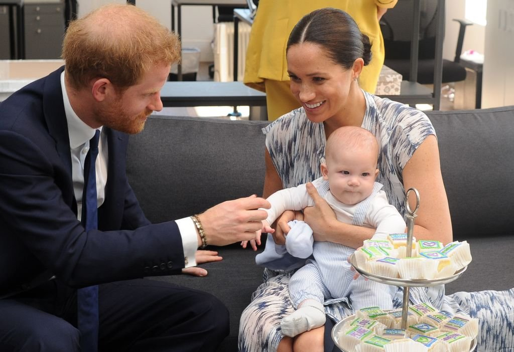 Prince Harry and his wife Meghan Markle and their son, Archie | Photo: Getty Images