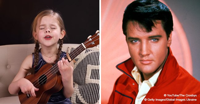 Claire Crosby Wows Fans with Another Magnificent Performance of an Elvis Presley Hit Song