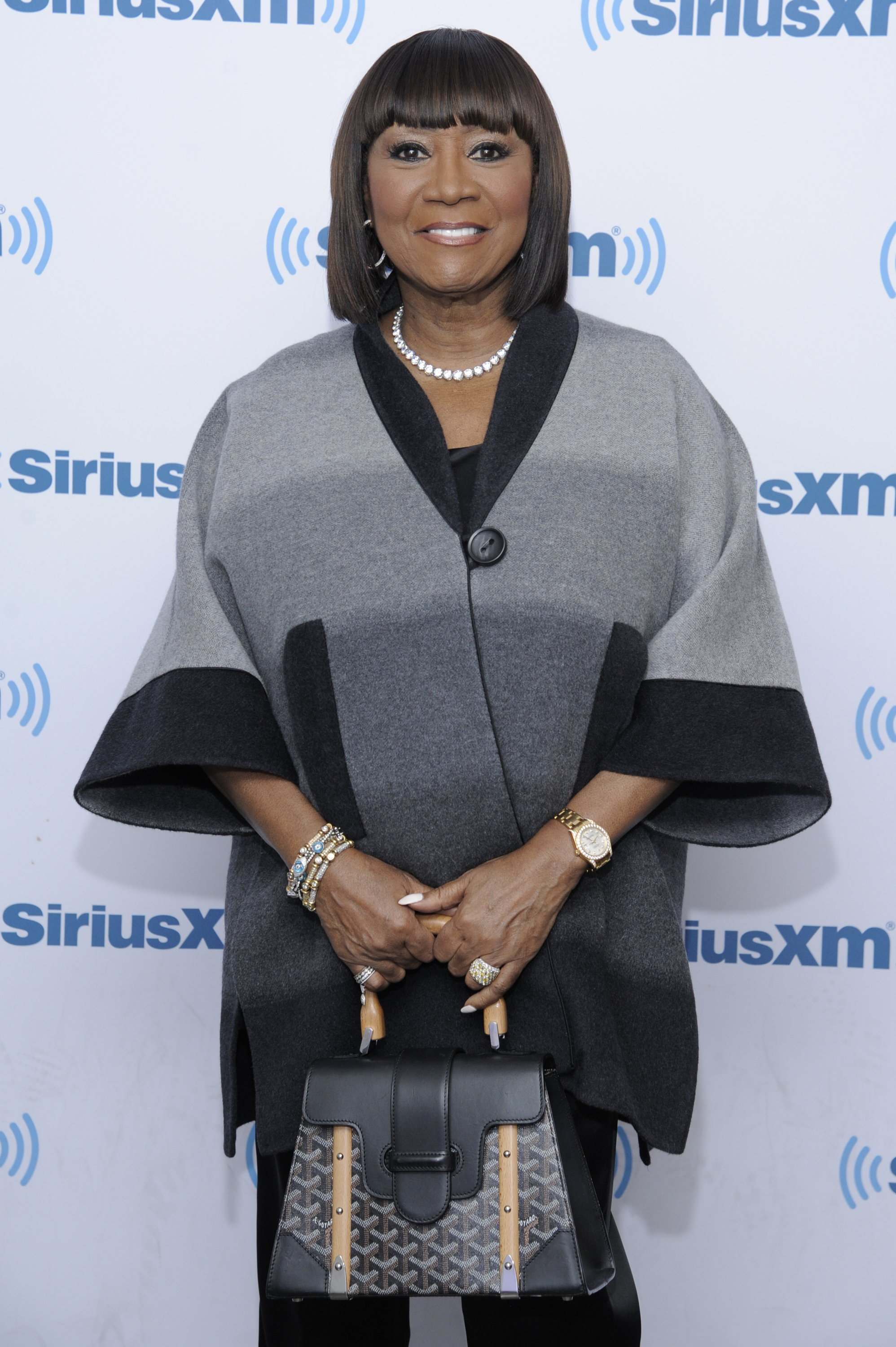 Patti LaBelle visiting SiriusXM Studio on September 14, 2016 in New York City. | Source: Getty