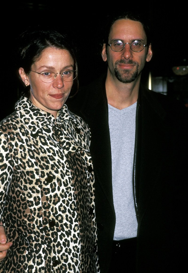 Frances McDormand and Joel Coen at Rainbow Room in January 1997 in New York City | Photo: Getty Images