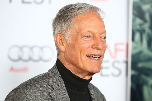 """Actor Richard Chamberlain arrived at the AFI FEST 2015 presented by Audi Centerpiece Gala premiere of """"Where To Invade Next"""" on November 7, 2015 in Los Angeles, California 
