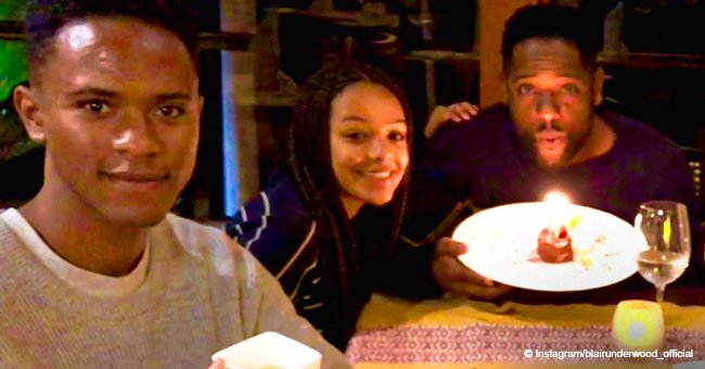Remember actor Blair Underwood? Meet his children who are all grown up & look like dad
