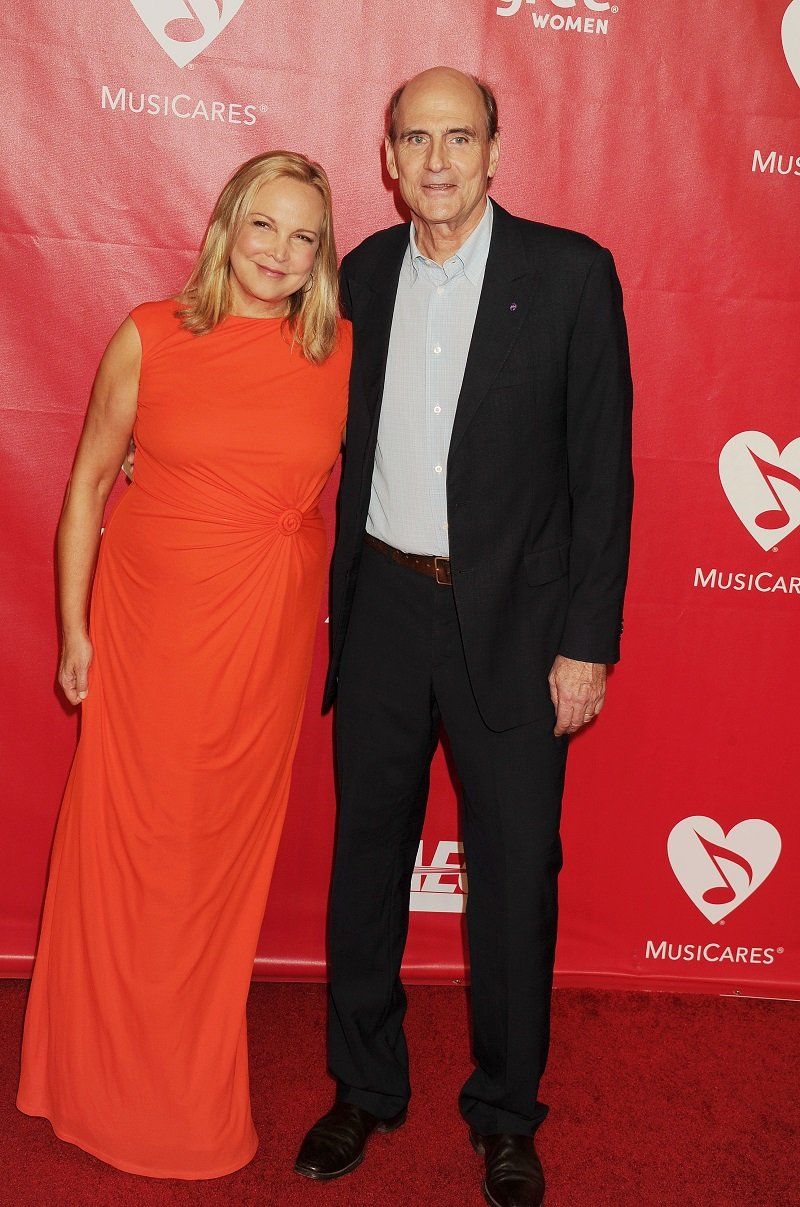 James Taylor and Kim Taylor on January 24, 2014 in Los Angeles, California | Photo: Getty Images