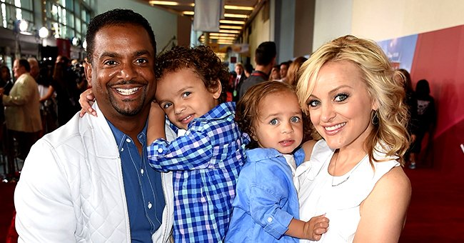 Alfonso and Angela Ribeiro's Children Anders, Alfonso, and Ava Pose for a New Pic Outdoors