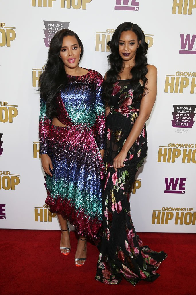 """Angela and Vanessa Simmons attend the 2017 celebration of """"Growing Up Hip Hop"""" Season 3 at the National Museum of African American History and Culture in Washington. 