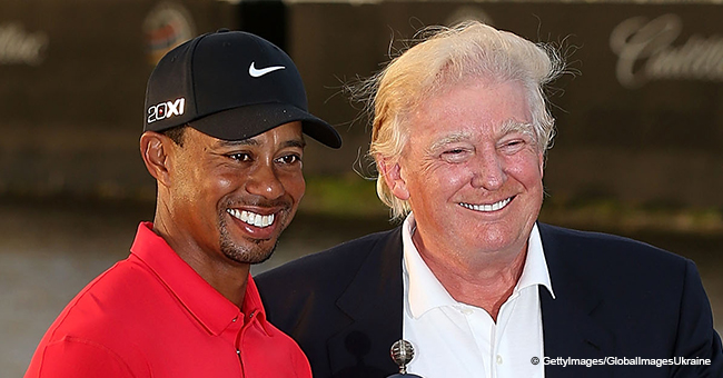 Donald Trump to Award Tiger Woods after His Iconic Win