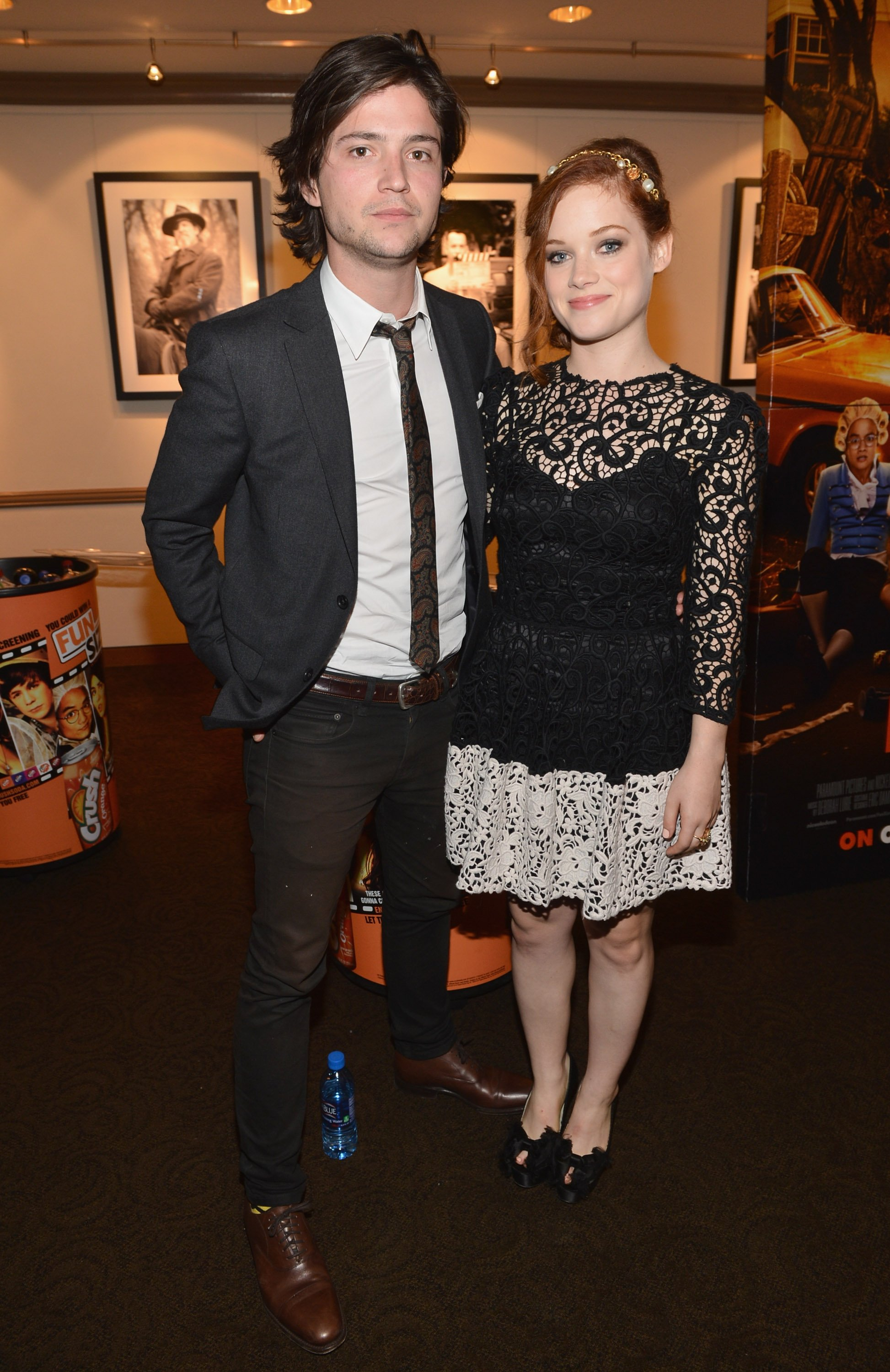 """Thomas McDonell and Jane Levy arrive to the premiere of Paramount Pictures' """"Fun Size"""" at Paramount Theater on the Paramount Studios lot on October 25, 2012 in Hollywood, California   Photo: Getty Images"""
