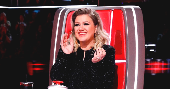 Kelly Clarkson Challenges 'The Voice' Judges in a Cute Dance Video to Raise Cancer Awareness