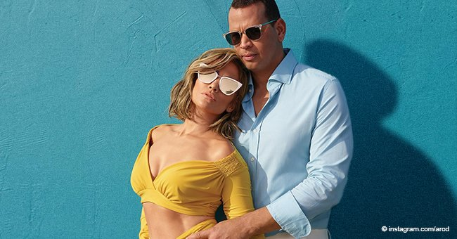 Jennifer Lopez Displays Her Stunning Body with Fiancé Alex Rodriguez