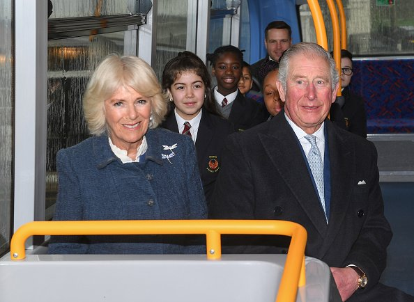 Prince Charles and Camilla on March 04, 2020 in London, England.   Photo: Getty Images