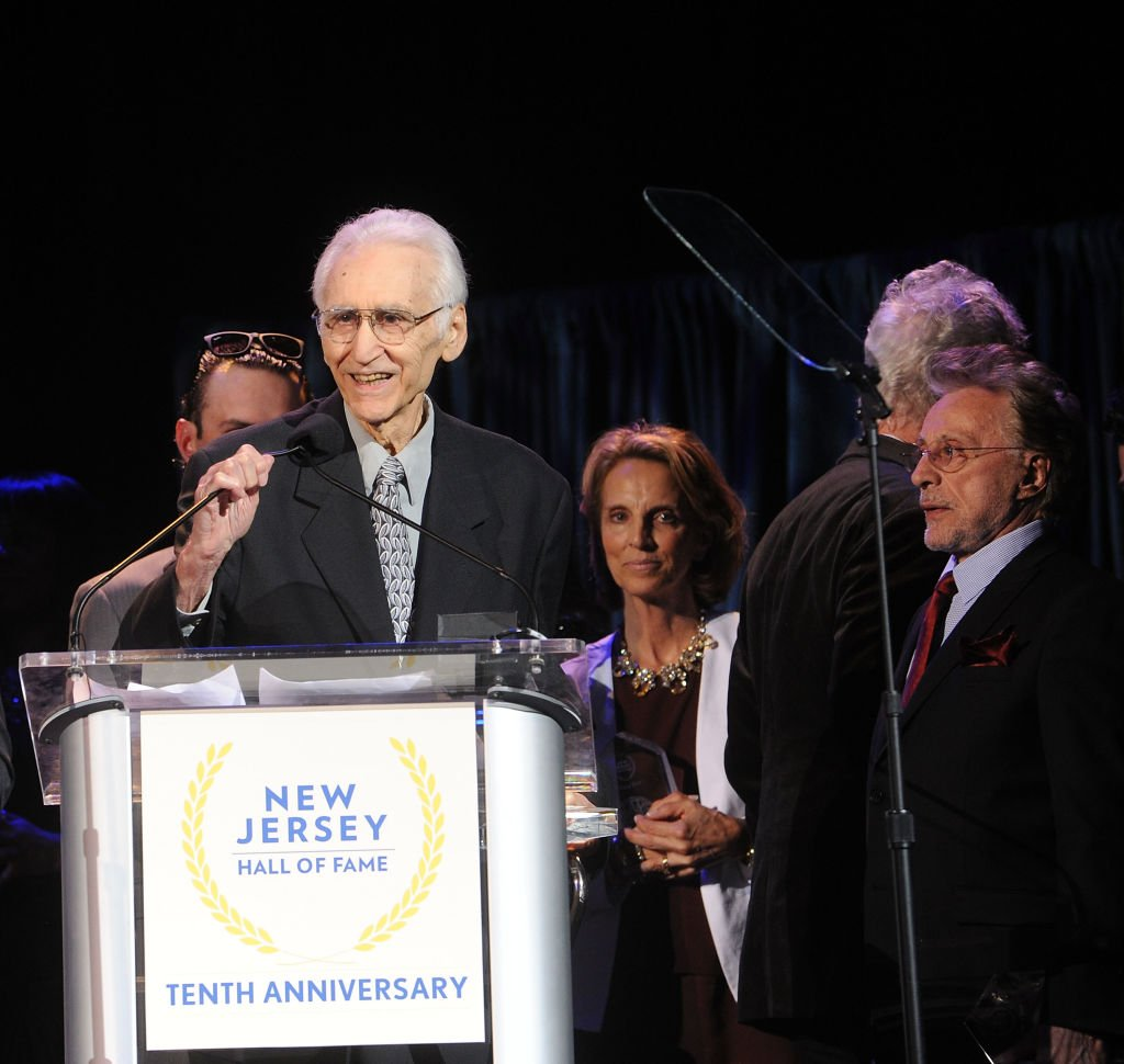 Joe Long and Frankie Valli of The Four Seasons attend the 2018 New Jersey Hall Of Fame Induction Ceremony at Asbury Park Convention Center on May 6, 2018. | Photo: Getty Images
