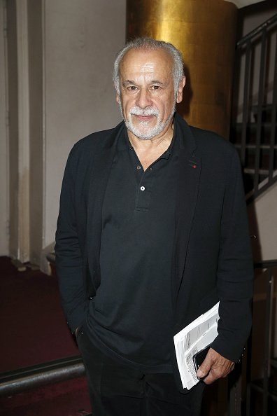 Francis Perrin au Théâtre des Mathurins le 18 septembre 2017 à Paris, France. | Photo : Getty Images