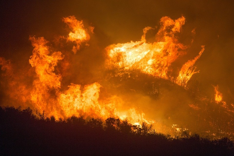 Incendio. | Foto: Pixabay