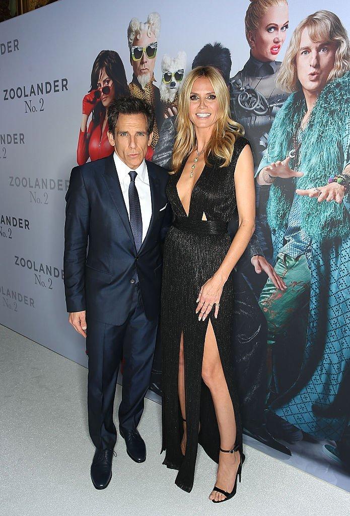 Heidi Klum und Ben Stiller, Sydney, Australia | Quelle: Getty images