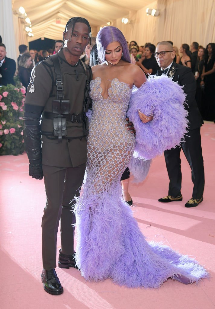 Travis Scott and Kylie Jenner attend The 2019 Met Gala Celebrating Camp: Notes on Fashion at Metropolitan Museum of Art   Photo: Getty Images