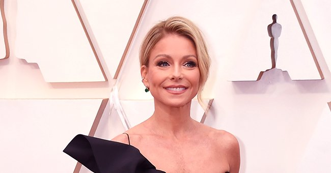 Kelly Ripa from 'Live with Kelly & Ryan' Turned Heads in Black Ruffled Gown at the 2020 Oscars