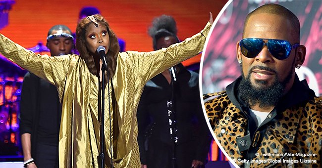 Erykah Badu booed for allegedly defending R. Kelly & 'putting up a prayer' for him at Chicago event