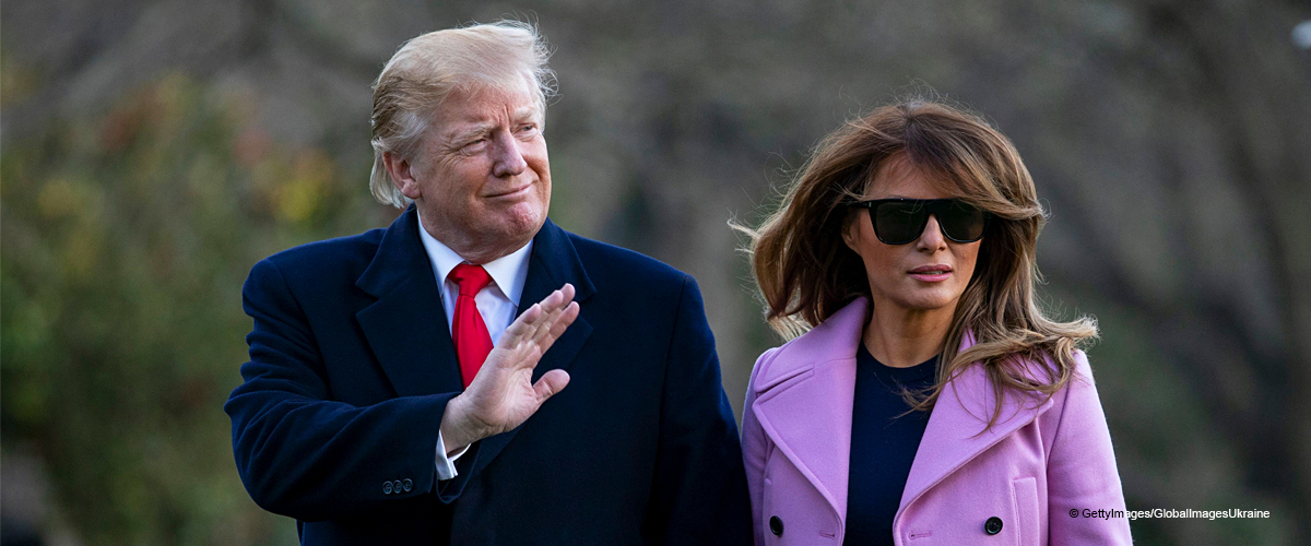 Melania Trump Turns Heads in a Lilac Designer Coat as She Returns to the White House in Style