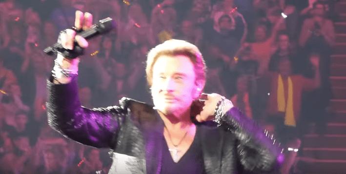 Johnny Hallyday en concert le 15 juin 2013, Paris Bercy.   Youtube/Ronald Bant
