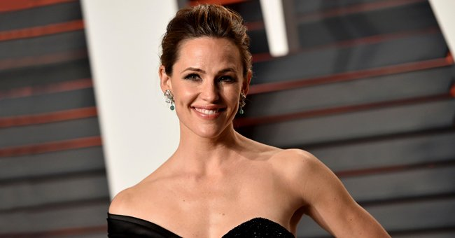 Jennifer Garner pictured at 2016 Vanity Fair Oscar Party, Beverly Hills, California.   Photo: Getty Images