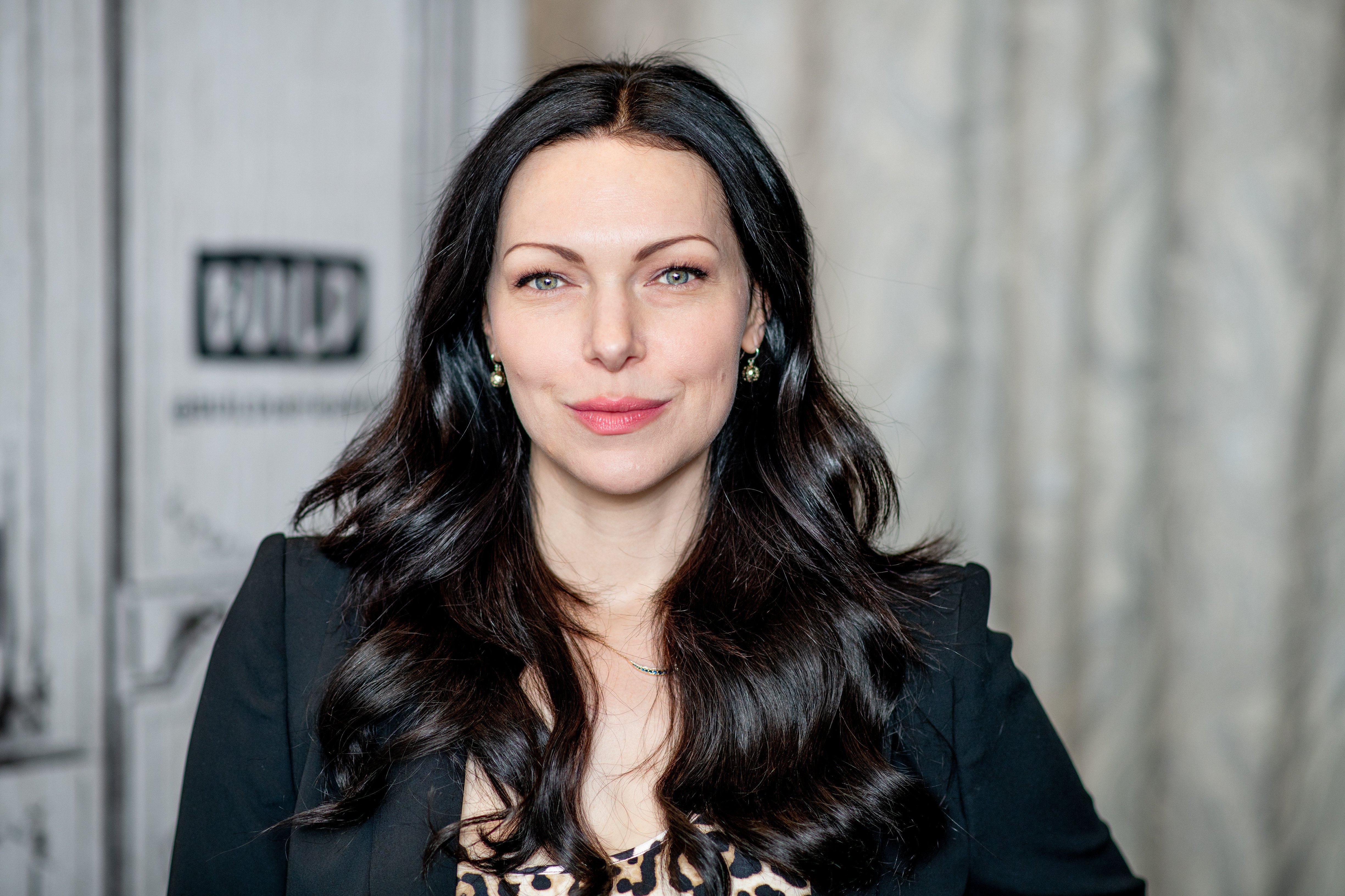 "Laura Prepon discusses ""Orange is the New Black"" and her YouTube channel with the Build Series at Build Studio on November 27, 2018. 
