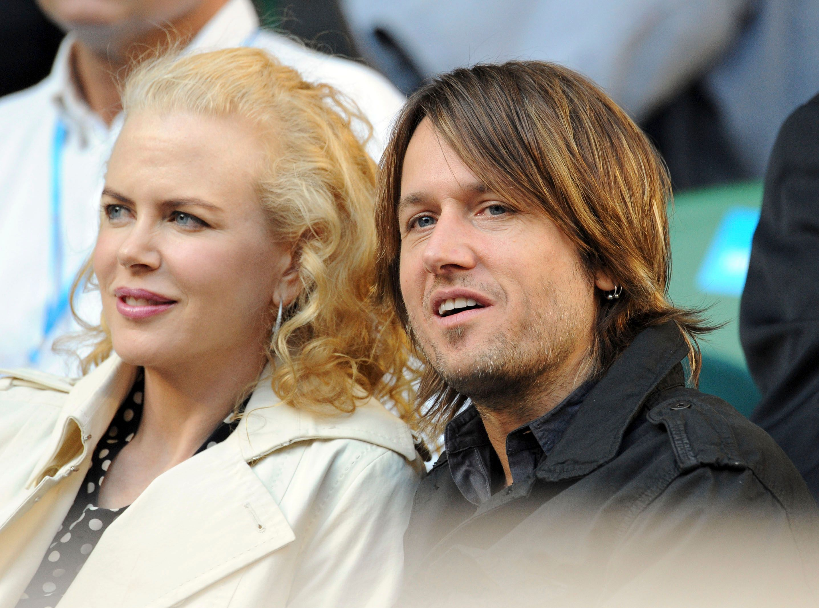 Nicole Kidman and Keith Urban during the Australian Open at Melbourne Park on January 21, 2008 in Melbourne, Australia. | Source: Getty Images