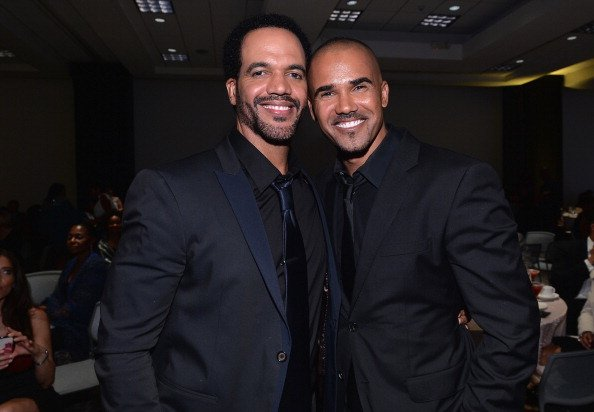 Shemar Moore, Kristoff St. John, 45th NAACP, 2014 | Quelle: Getty Images