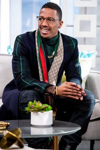 Nick Cannon of 'The Masked Singer' at the E! Studio. | Photo: Getty Images.