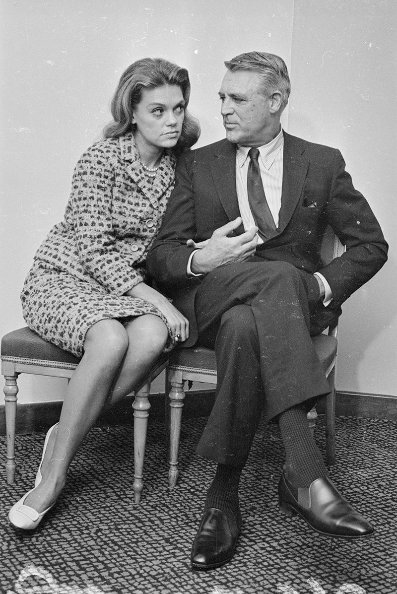 Dyan Cannon and Cary Grant. I Image: Getty Images.