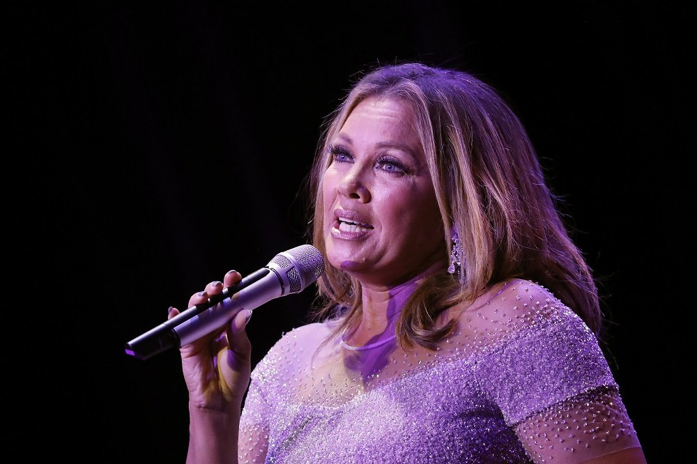 """Vanessa Williams performs during the Sheen Center's """"Vanessa Williams & Friends: Thankful for Christmas"""" at Sheen Center for Thought & Culture on November 18, 2019. 