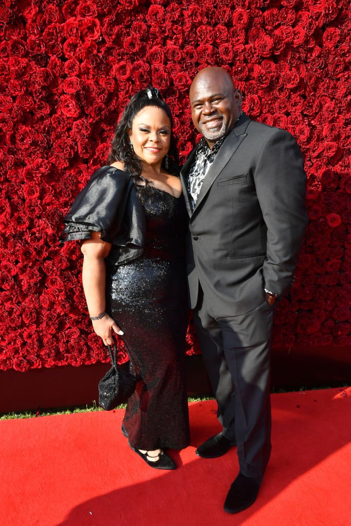 Tamela Mann and David Mann attend Tyler Perry Studios' grand opening gala in October 2019| Photo: Getty Images
