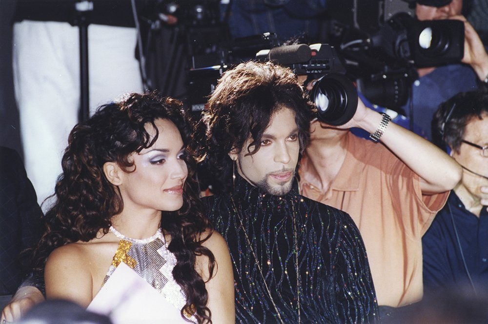 Prince and Mayte Garcia. I Image: Getty Images.