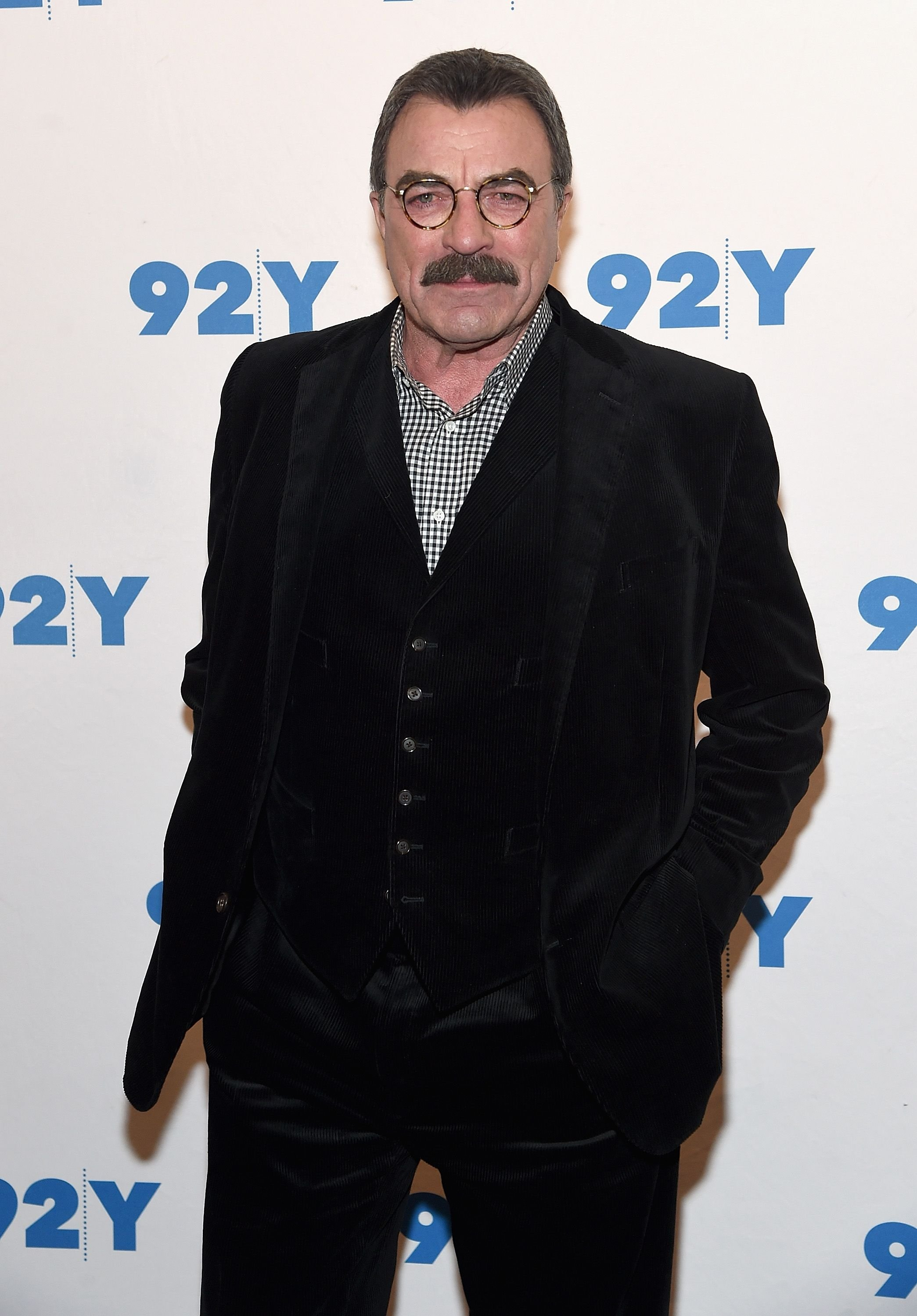 Tom Selleck at the Blue Bloods 150th Episode Celebration at 92nd Street Y on March 27, 2017 | Photo: Getty Images